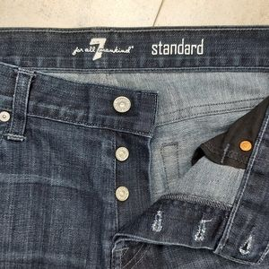 📣2/36$📣 7 For All Manking button fly jeans
